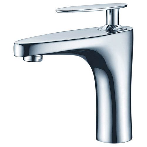 American Imaginations 16.5-in. W Above Counter White Vessel Set For 1 Hole Center Faucet - Faucet Included