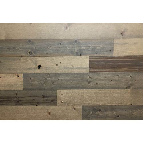 Peel and Stick Reclaimed Sandy Beach Wood, 4 In. Planks
