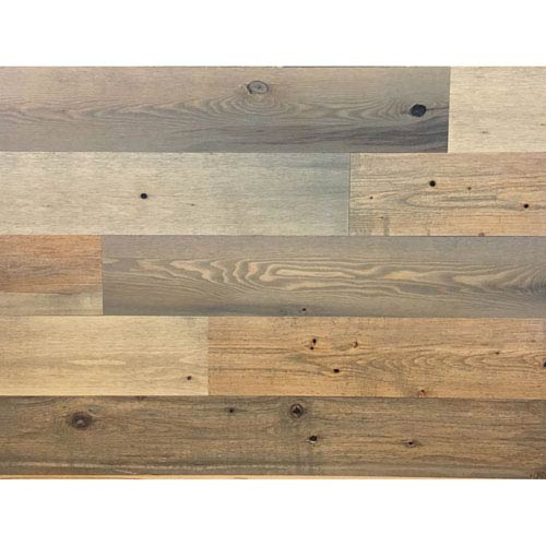 Peel and Stick Reclaimed Sandy Beach Wood, 5 In. Planks