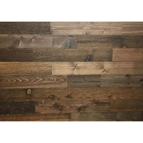 Peel and Stick Reclaimed Freestone Wood, 3 In. Planks