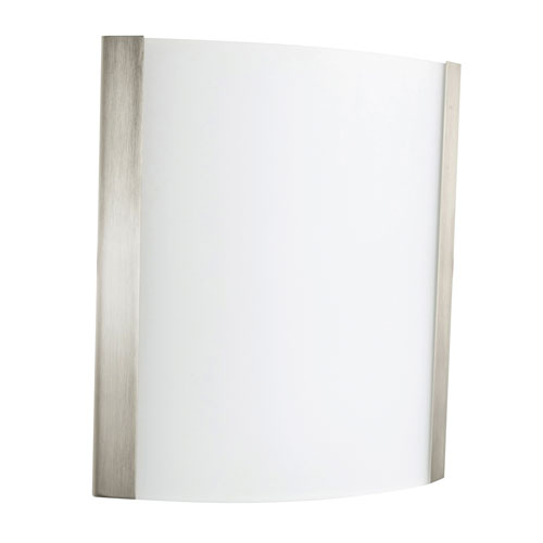 Ideal Satin Nickel Nine-Inch One-Light Wall Sconce