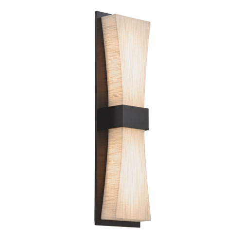 Aberdeen LED Wall Sconce with Jute Shade