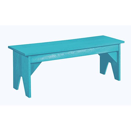 Generation Turquoise Basic Bench