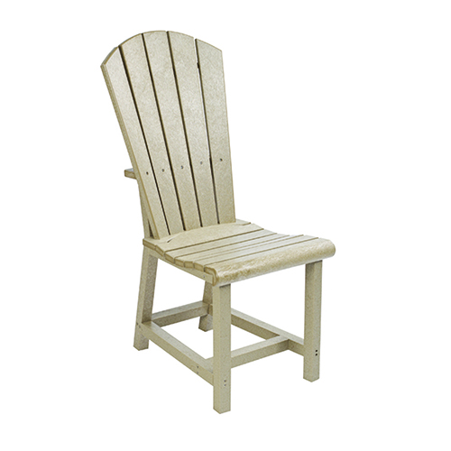 Generations Dining Adirondack Style Side Chair-Beige