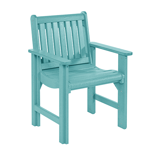Generation Turquoise Dining Arm Chair