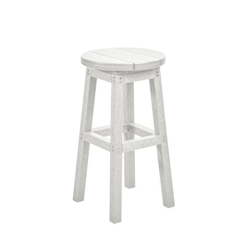 Generation White Patio Counter Stool