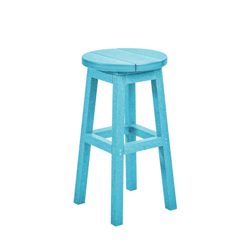 Generation Turquoise Patio Counter Stool