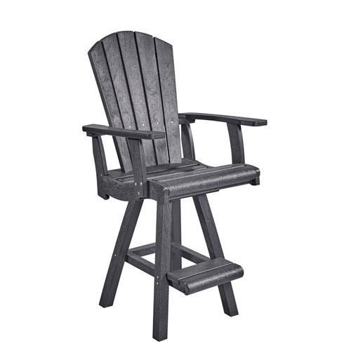 Generation Slate Grey Pub Arm Chair