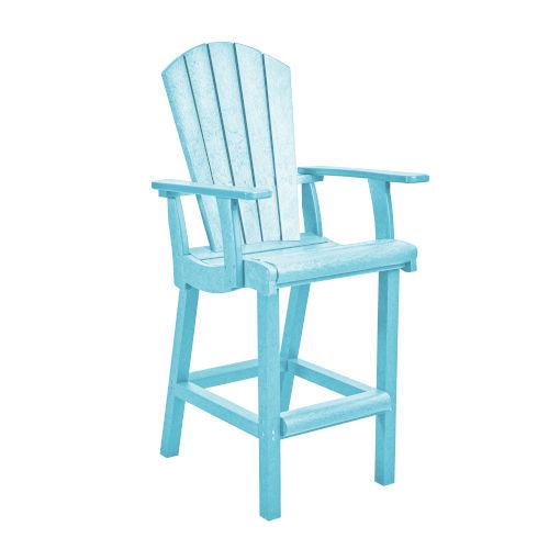 Generation Aqua Patio Pub Arm Chair