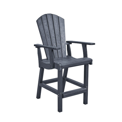 Generation SlateGray Patio Counter Height Arm Chair