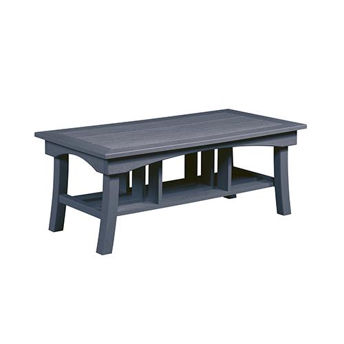 Slate Grey Bay Breeze  49-Inch Coffee Table