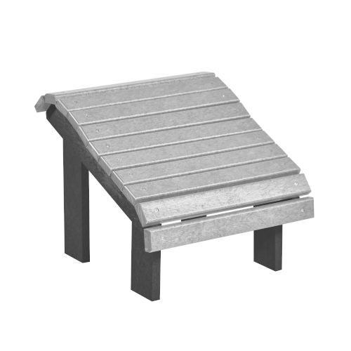 Generation Slate and Light Gray 20-Inch Footstool