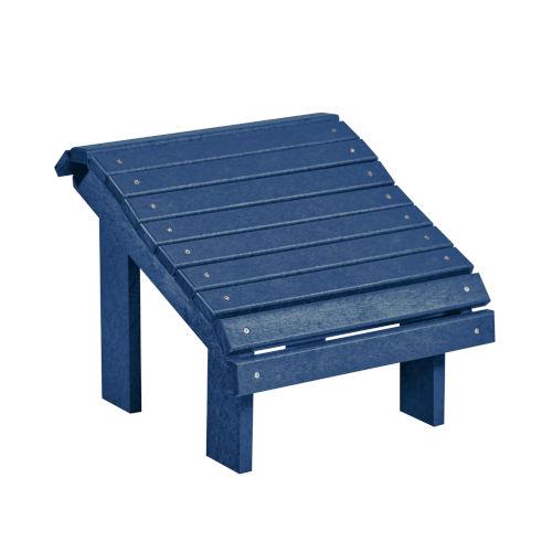Generation Navy Patio Premium Footstool