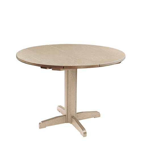 Cr Plastic Products Generation Beige 40 Inch Round Table Top With