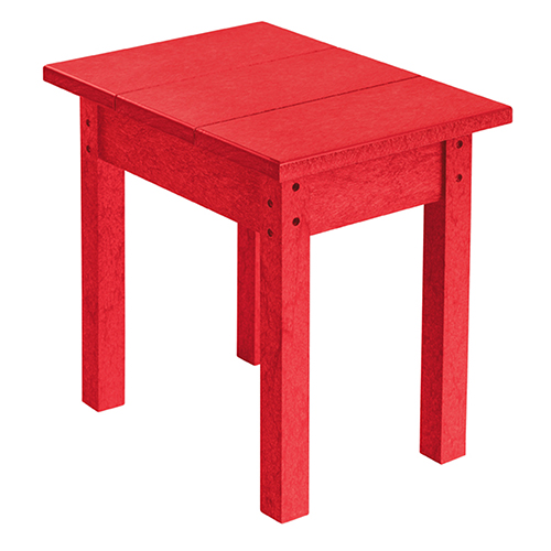 Generations Small Side Table-Red
