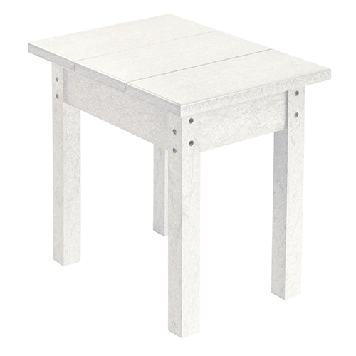 Generations Small Side Table-White