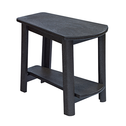 Generations Tapered Style Accent Table-Black