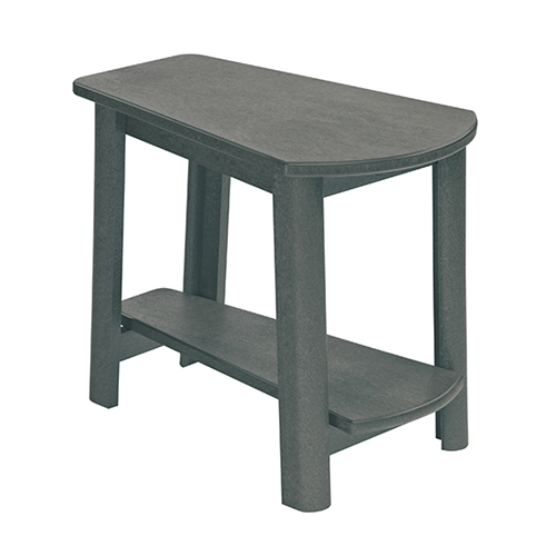 Generations Tapered Style Accent Table-Slate Grey