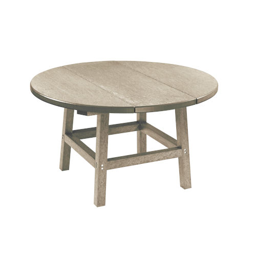 Capterra Casual Sand Outdoor Round Table Top