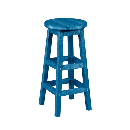 Captiva Casual Cobalt Bar Stool