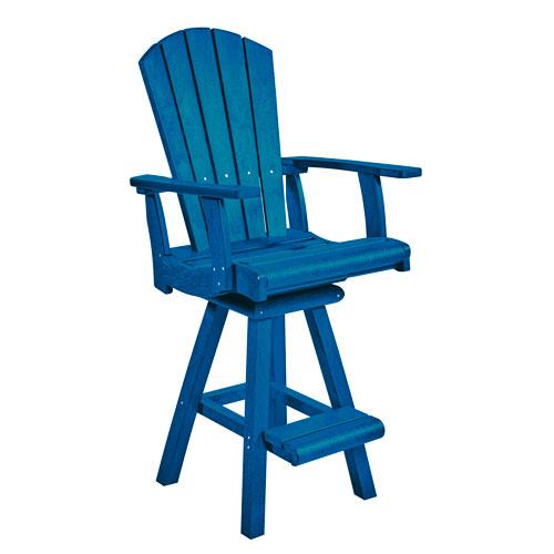 Captiva Casual Cobalt Pub Chair