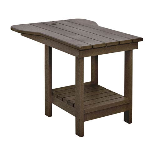 Generations Tete A Tete Upright Table-Chocolate