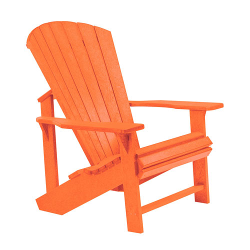 Generations Adirondack Chair-Orange