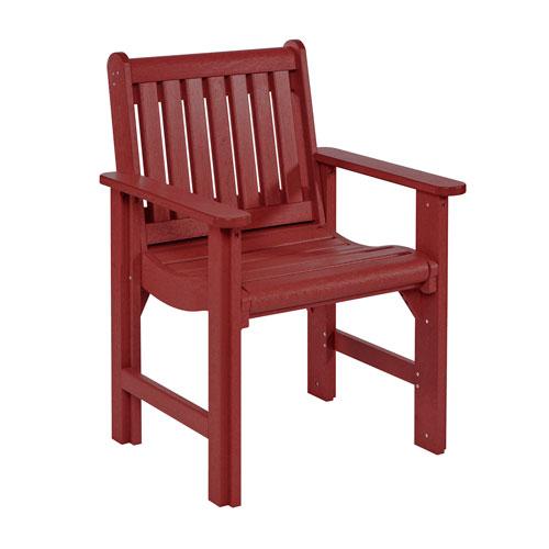 Generation Burgundy Dining Arm Chair