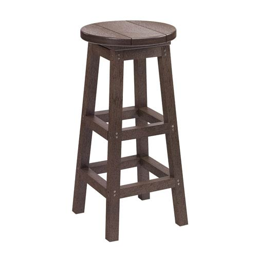 Generations Swivel Bar Stool-Chocolate
