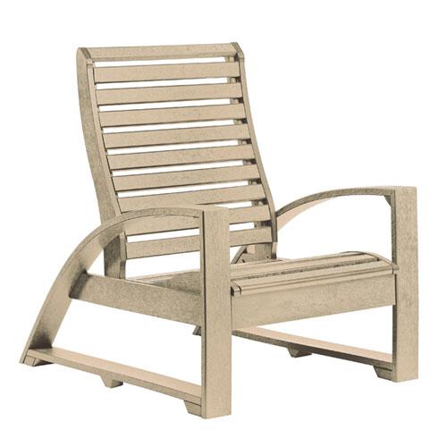 St. Tropez Beige Lounge Chair