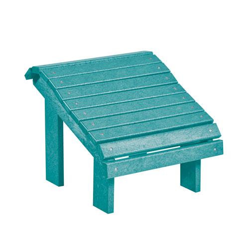 Turquoise Premium Footstool