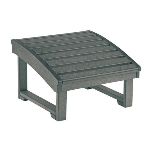 C.R. Plastic Products St. Tropez Slate Grey Footstool