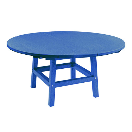 Generation Blue 40-Inch Round Table Top with 17-Inch Cocktail Table Legs