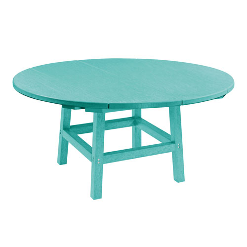 Generation Turquoise 40-Inch Round Table Top with 17-Inch Cocktail Table Legs