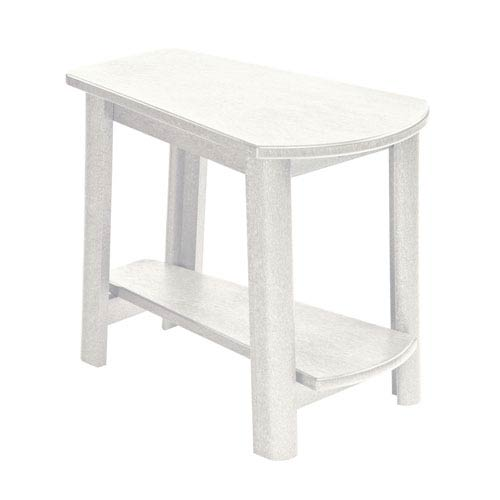 Generations Tapered Style Accent Table-White