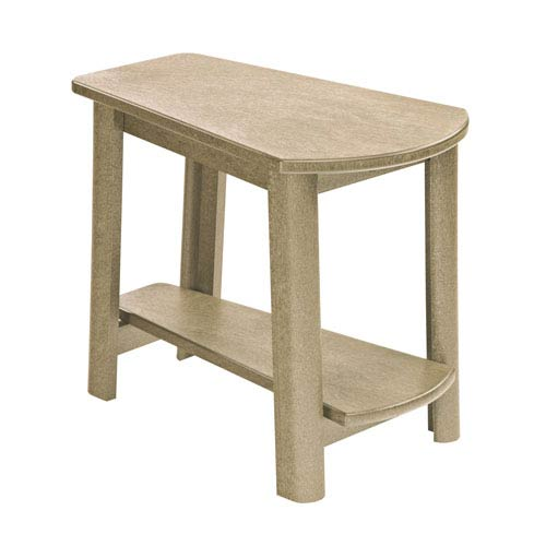 Generations Tapered Style Accent Table-Beige