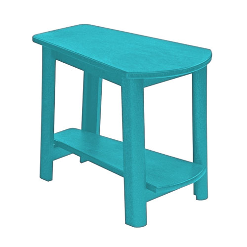 Turquoise Generation Addy Side Table