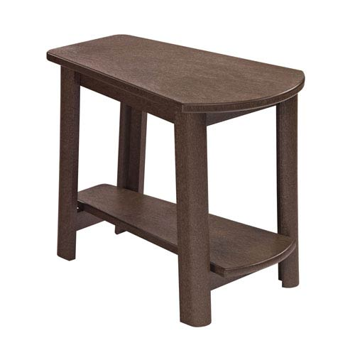 Generations Tapered Style Accent Table-Chocolate