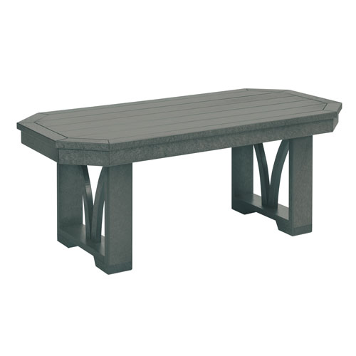 St. Tropez Slate Grey Rectangular Cocktail Table