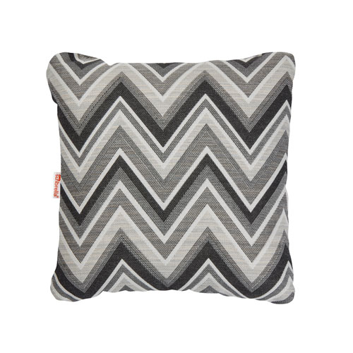 Fischer Graphite Throw Pillow