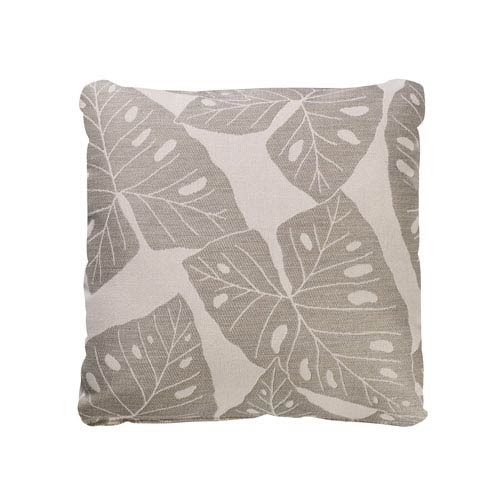 Designer Throw Pillow-Radiant Silver