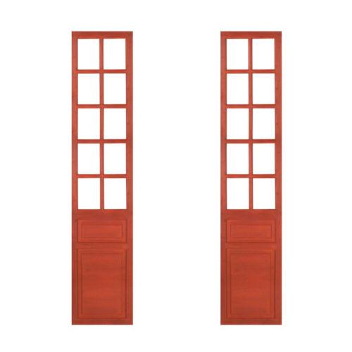 Red 17-Inch Door Panel, Set of 2
