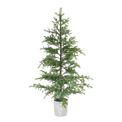 Green and Brown 7 Ft. Potted Pine Tree