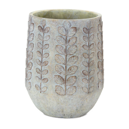 Brown and White Pot, Set of 3