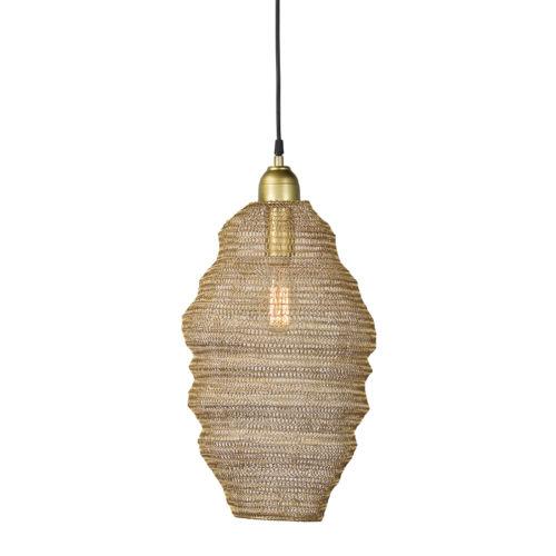 Gold 10-Inch One-Light Pendant