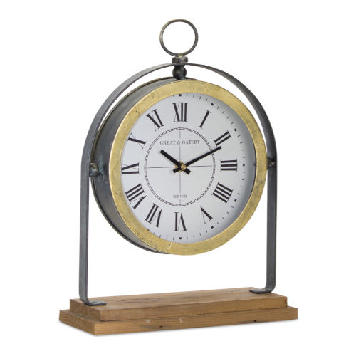 Pocketwatch Style Clock on Stand