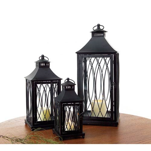 Black Lantern, Set of Three