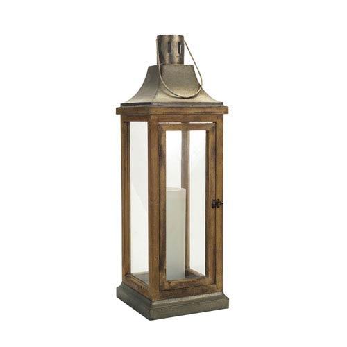 Melrose International Gray Lantern
