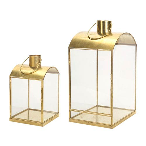 Gold Lantern, Set of Two