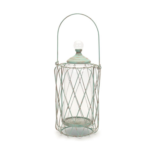 Open Lantern with Removable Canister